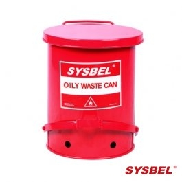Waste Can|Oily Waste Can(14Gal/52.9L)