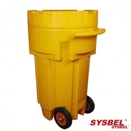 65-Gallon Wheeled Poly-Overpack Salvage Drum
