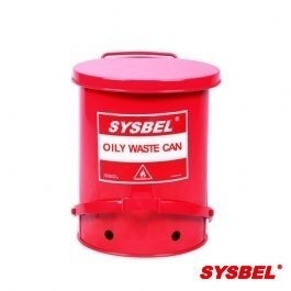 Waste Can|Oily Waste Can(6Gal/22.6L)