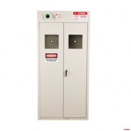 Gas Cylinder Storage Cabinet(2-Cylinder)(With Air Blower)